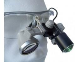 Налобный осветитель с лупой ECMG-3,0x/2,5x-RD ErgonoptiX