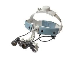 Налобный осветитель с лупой ECMG-3,0x-RD/LD ErgonoptiX