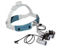Налобный осветитель с лупой ECMP-4,0x-R ErgonoptiX